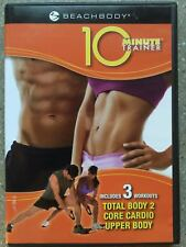 BeachBody10 Minute Trainer w/ Tony Horton [DVD 2009] Ships Anywhere Today!