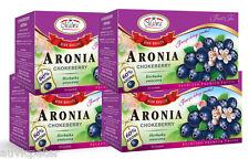 4 Packs Malwa Aronia Chokeberry Fruit Tea, Herbatka Owocowa,  80 tea bags