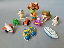 Collection Of Vintage Wind up Toys TOMY, Galoob, Cabbage Patch, Monkey, Kangaroo