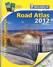 North America Road Atlas 2012 USA/CAN/MEX Atlas Michelin