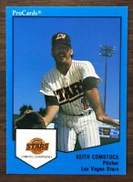 1989 ProCards KEITH COMSTOCK #14 Las Vegas SET Original Shot to Nuts ESPN 81201