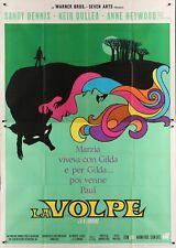 FOX Italian 4F movie poster 55x79 SANDY DENNIS ANN HEYWOOD LESBIAN GAY 1968