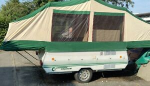 Conway Cruiser Folding Camper Trailer Tent with Awning
