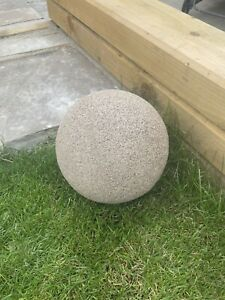 Stone Effect Resin Ball Large 23cm Dia