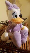 "Disney Store Original Seal Daisy Duck Plush Doll 18"" Donald's Girlfriend"