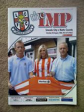 Lincoln City v Notts County - Coca~Cola League 2  2006/07 Programme