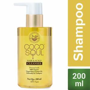 Coco Soul Beauty Hair & Scalp Shampoo With Virgin King Coconut Oil 200 ml