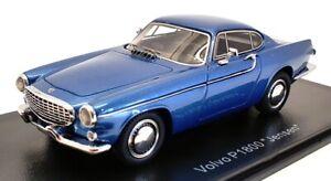 Neo 1/43 Scale Model Car NEO44382 - Volvo P1800 Jensen - Met Blue