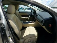 2012-15 JAGUAR XF PASSENGER FRONT LEATHER SEAT SET BEIGE TAN 16447miles 13 XF