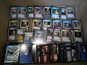 Star Trek CCG Card Lot 1E&2E 130+ Rares 2000+ U/C Worth $500+ 8+ Expansion Sets