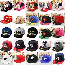 Baby Kids Child Superhero Hip Pop Baseball Cap Boys Girl Adjustable Snapback Hat