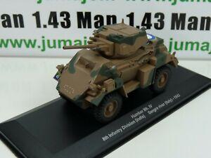 WW3 Eaglemoss 1/43 Blindés WW2 : Humber Mk. IV 8th Infantry Division Italy 1943