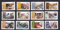 Serie sellos adhesivos de Francia 2015 Yvert AD 1070/81