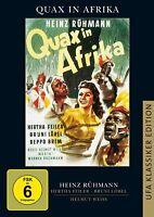 Quax in Afrika [DVD/NEU/OVP] Heinz Rühmann, Hertha Feiler, Bruni Löbel