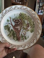 Lenox China Nature'S Nursery-Koalas 1983 Collector's Plate Excellent