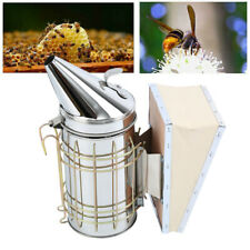 Stainless Steel Bee Hive Smoker Heat Shield Calming Beekeeping Equipment