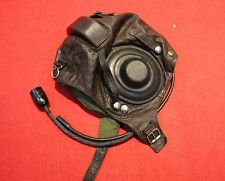 RARE  Flight Helmet Air Force Mig-15 Fighter Pilot Leather SIZE:1# XXL