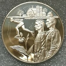 MINNESOTA 1976 National Governors Conference Official Bicentennial Silver 39mm