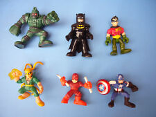 Bundle 6 Imaginext Hasbro DC Comics superhero figures capitan america daredevil