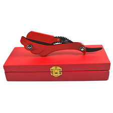 Barber Shaving Razor's Straight Cut Throat With Red Box Shavette Rasoirs Salons