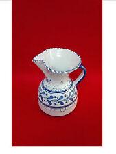 Jarra de porcelana TALAVERA pintada a mano y firmada S TIMONEDA Años 80 Vintage