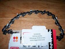 "1  91PX053G Oregon chainsaw saw chain 14"" 3/8 LP .050 gauge 53 drive links  S53"