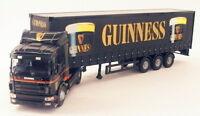 Corgi 1/50 Scale Diecast Truck 76403 - Scania Curtainside - Guinness