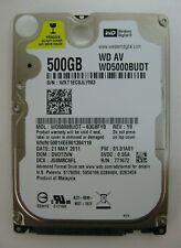 """Western Digital 500GB 2.5"""" SATA Hard Disk Drive WD5000BUDT-63G8FY0"""