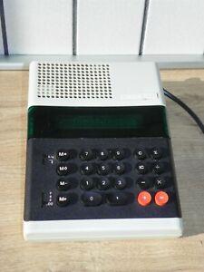Vintage 70s 12-digit Desktop 220V Electronic Calculator ELKA 51 Soviet Bulgarian