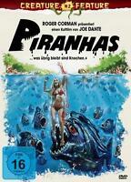 Creature Feature Collection 2 Piranhas was übrig bleibt sind Knochen DVD Box NEU
