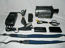 Sony PAL CCD-TRV14E PAL 8mm Video8 Camera Camcorder VCR Player Video Transfer