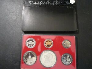 1976 - S Proof Set United States US Mint Original Government Packaging Box