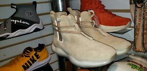 REEBOK 917 BS7057 NATURAL LEATHER SUEDE SUPERHERO BOOTS MENS SIZE 12 NEW