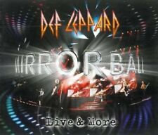 NEW Mirror Ball Live & More mirrorball Def Leppard CD 3 Discs box set defleppard