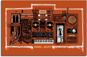 """Beastie Box"" Boys Silkscreen Tribute Variant Poster Ltd Ed 185 Art Karl Tagle"