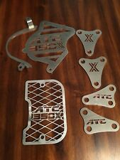 1985 HONDA ATC 350X DRESS UP KIT, OIL COOLER, MOTOR MOUNTS, SPROCKET COVER