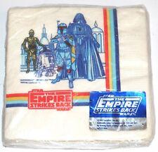 Star Wars ESB Facial Quality Beverage Napkins 1980 MISP Lucasfilm Drawing Board