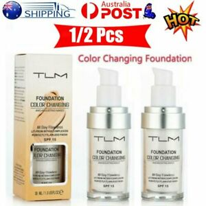 Magic Flawless Color Changing Foundation TLM Makeup Change To Your Skin Tone LMN