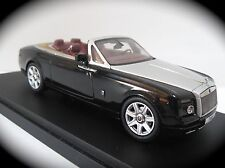 Kyosho High-End 1:43 Mason's Black 2012 Rolls Royce Phantom Drophead Coupe, NIB!
