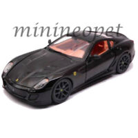 BBURAGO 18-26019 FERRARI 599 GTO 1/24 DIECAST MODEL CAR BLACK