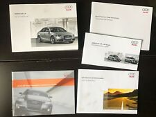 2009 Audi A4 Owners Manual OEM Free Shipping