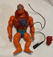 Vintage He-Man MOTU Beast Man Action Figure Masters Of The Universe wAccessories