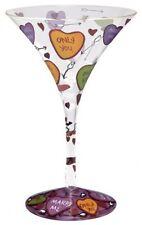 Lolita Martini Glass - Love Martini Glass  NEW