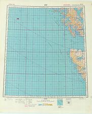 Russian Soviet Military Topographic Maps - sheet CRAIG (USA, Alaska), ed.1949