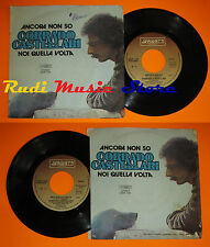 LP 45 7'' CORRADO CASTELLARI Ancora non so Noi quella 1979 italy cd mc dvd