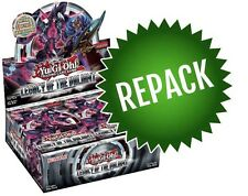 Legacy of the Valiant LVAL Booster Box Repack 24 Opened YuGiOh Packs In Box