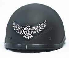 Eagle Rhinestone Helmet Patch Motorcycle Decal Biker MX ATV Sticker Racing NEW