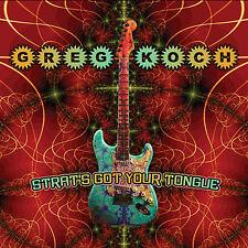 GREG KOCH: STRAT'S GOT YOUR TONGUE CD -DIGIPACK (AWESOME INSTRUMENTAL GUITARIST)
