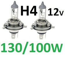 H4 Globes 12V 130/100W for Toyota Hilux Surf Forerunner SR5 Dual Cab 4WD Ute