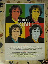 RINO GAETANO-PUBBLICIZZA-SOTTO I CIELI DI RINO cm 21x30
